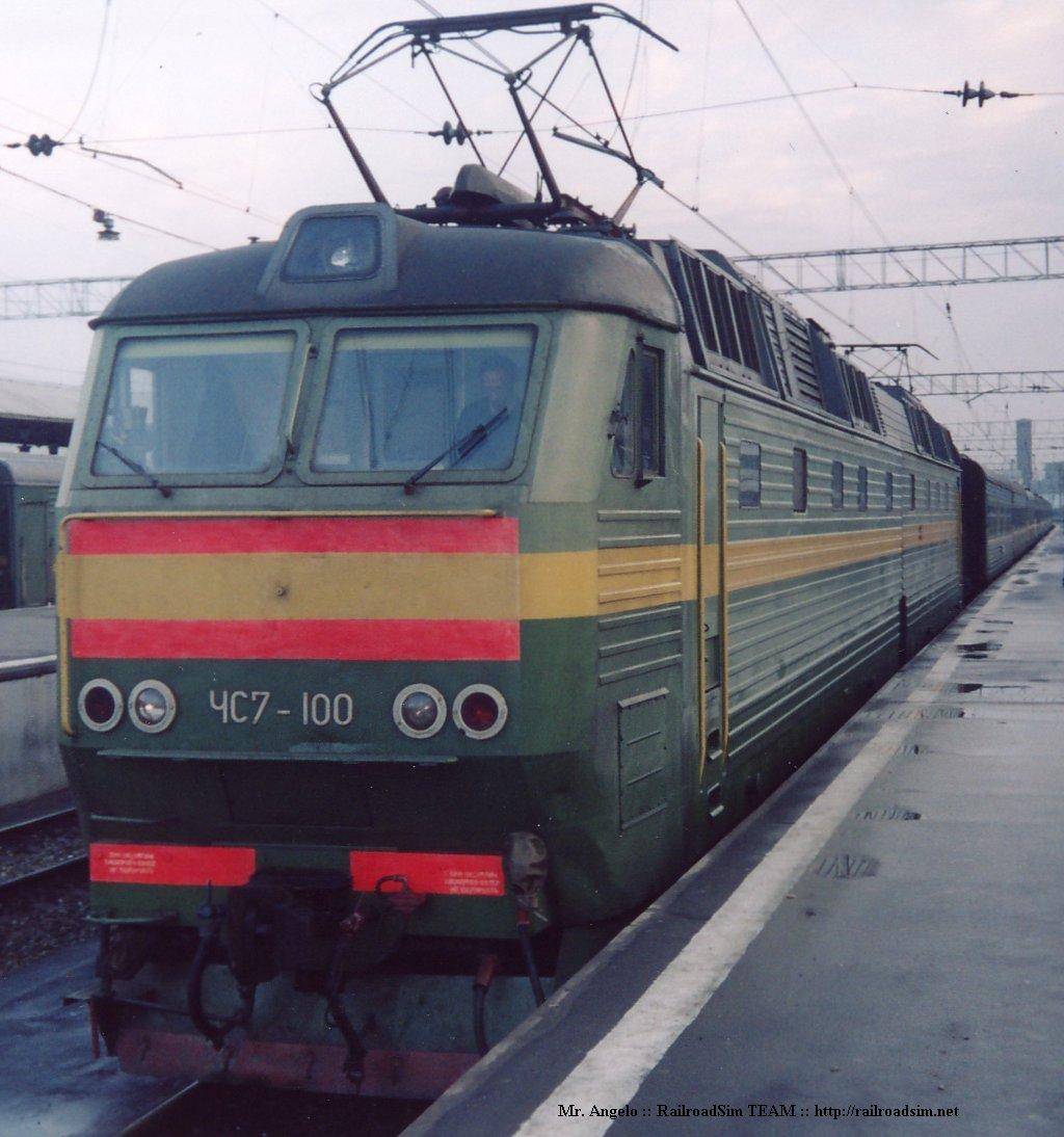 Электровоз ЧС7-100